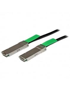 StarTech.com MSA-kompatibel QSFP+-twinaxkabel för direktanslutning - 2 m Startech QSFPMM2M - 1