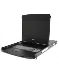 """StarTech.com 1U 17"""" HD 1080p Dual Rail Rackmount Widescreen LCD Console Startech RACKCOND1701 - 1"""