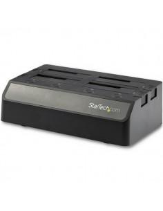 StarTech.com SDOCK4U313 tallennusaseman telakointiasema USB 3.2 Gen 2 (3.1 2) Type-C Musta Startech SDOCK4U313 - 1
