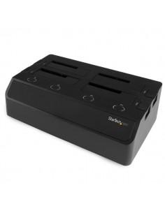 StarTech.com SDOCK4U33E tallennusaseman telakointiasema USB 3.2 Gen 1 (3.1 1) Type-B + eSATA Musta Startech SDOCK4U33E - 1