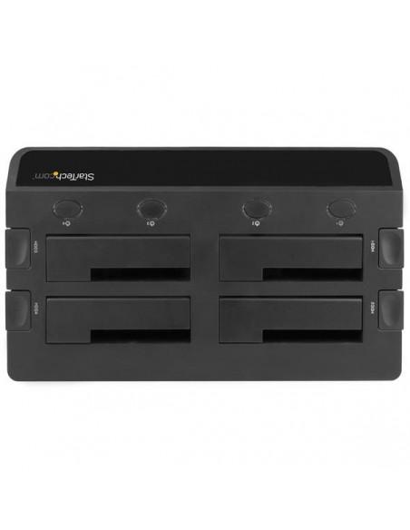 StarTech.com SDOCK4U33E tallennusaseman telakointiasema USB 3.2 Gen 1 (3.1 1) Type-B + eSATA Musta Startech SDOCK4U33E - 3