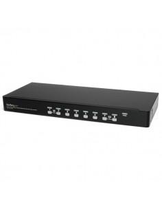 StarTech.com 8 Port 1U Rackmount USB Kit with OSD and Cables Startech SV831DUSBUK - 1