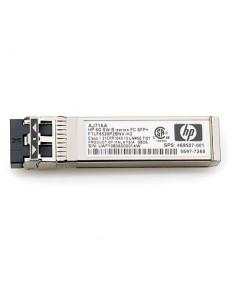 Hewlett Packard Enterprise 8Gb Shortwave B-series Fibre Channel 1 Pack SFP+ transceiver network module 8000 Mbit/s Hp AJ716BR -