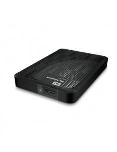 Western Digital My Passport AV-TV 500GB externa hårddiskar Svart Western Digital WDBHDK5000ABK-EESN - 1