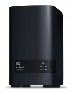 Western Digital My Cloud EX2 Ultra NAS Työpöytä Ethernet LAN Musta Armada 385 Western Digital WDBVBZ0060JCH-EESN - 1