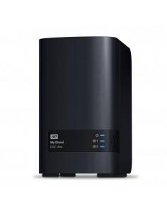Western Digital My Cloud EX2 Ultra NAS Ethernet LAN Musta Armada 385 Western Digital WDBVBZ0280JCH-EESN - 1