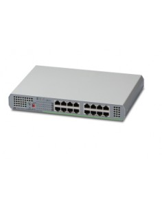 Allied Telesis AT-GS910/16 Unmanaged Gigabit Ethernet (10/100/1000) Grey Allied Telesis AT-GS910/16-50 - 1