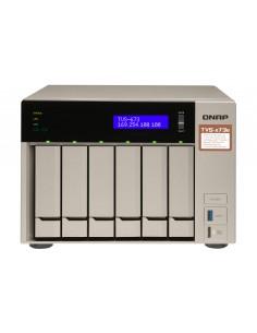QNAP TVS-673E NAS Tower Ethernet LAN Harmaa RX-421BD Qnap TVS-673E-8G - 1
