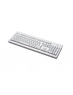 Fujitsu KB521 keyboard USB Danish Grey Fujitsu Technology Solutions S26381-K521-L150 - 1