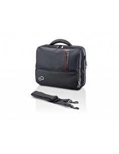"Fujitsu Prestige Case Mini 13 laukku kannettavalle tietokoneelle 33 cm (13"") Salkku Musta Fujitsu Technology Solutions S26391-F1"
