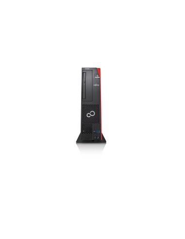 Fujitsu CELSIUS J580 i7-9700 SFF 9. sukupolven Intel® Core™ i7 16 GB DDR4-SDRAM 512 SSD Windows 10 Pro Työasema Musta, Punainen