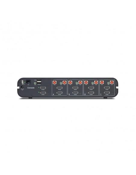 Belkin F1DN204KVM-UN-3 KVM switch Rack mounting Black Linksys F1DN204KVM-UN-3 - 2