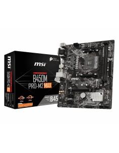 MSI B450M PRO-M2 MAX emolevy AMD B450 Kanta AM4 mikro ATX Msi B450M PRO-M2 MAX - 1