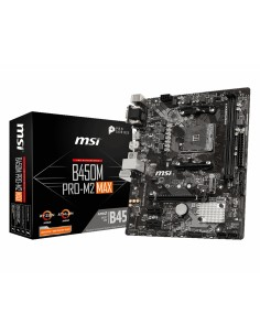 MSI B450M PRO-M2 MAX moderkort AMD B450 Uttag AM4 micro ATX Msi B450M PRO-M2 MAX - 1