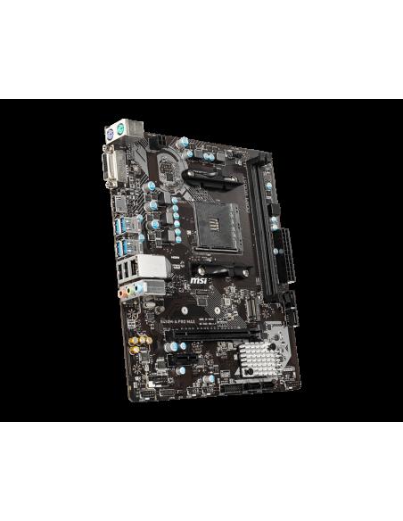 MSI B450M PRO-VDH Max AMD B450 Uttag AM4 micro ATX Msi B450M PRO-VDH MAX - 4