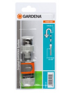Gardena 18285-20 vesiputkien osa Letkun välikappale Harmaa, Oranssi 1 kpl Gardena 18285-20 - 1