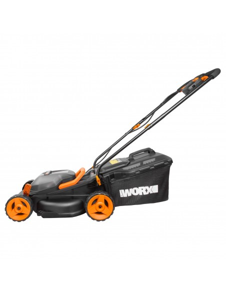 WORX WG779E gräsklippare Handgräsklippare Batteri Svart, Orange Worx WG779E - 2