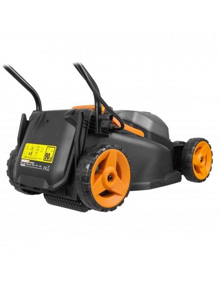 WORX WG779E gräsklippare Handgräsklippare Batteri Svart, Orange Worx WG779E - 3