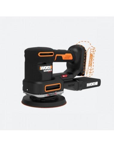 WORX WX820L.9 bärbar slipmaskin Skivslipmaskin 10000 RPM Svart, Gul Worx WX820.9 - 1