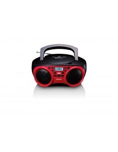 Lenco SDC-501 Kannettava CD-soitin Punainen Lenco SCD-501RED/BLACK - 1