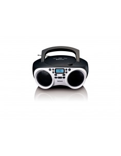 Lenco SDC-501 Kannettava CD-soitin Musta, Valkoinen Lenco SCD-501WHITE/BLA - 1