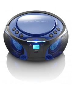 Lenco SCD-550 Digital 3.6 W Blue Lenco SCD-550BLAU - 1