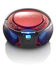Lenco SCD-550 Digitaalinen 3.6 W Punainen Lenco SCD-550ROT - 1