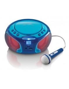 Lenco SCD-650 blue Portable Lenco SCD-650B - 1