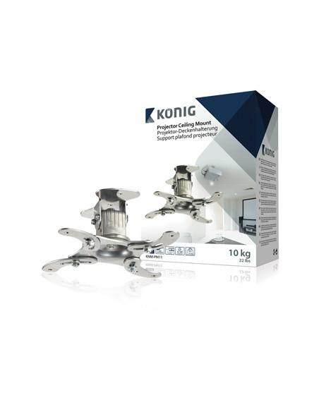 König KNM-PM11 projektorin kiinnike Katto/seinä Hopea König KNM-PM11 - 2