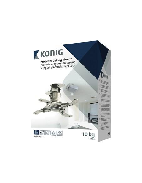 König KNM-PM11 projektorin kiinnike Katto/seinä Hopea König KNM-PM11 - 3