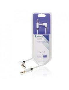 König KNM22600W05 audiokaapeli 0.5 m 3.5mm Valkoinen König KNM22600W05 - 1