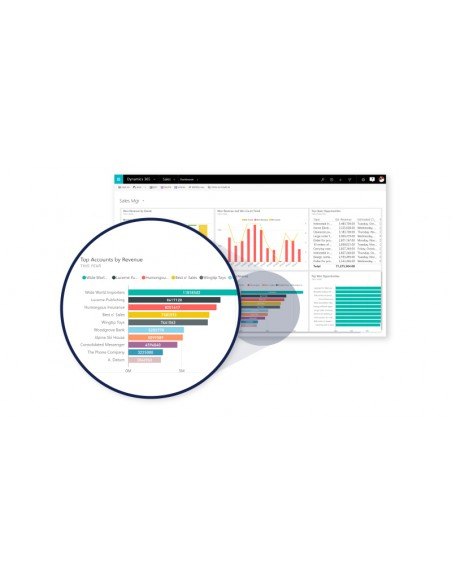 Microsoft Dynamics 365 for Sales, All lang, SAStep Up, Academic OLV, 1 License, Level E, Team Members, Additional Product Micros