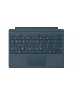 Microsoft Surface Pro Signature Type Cover Sininen port QWERTY Englanti (UK) Microsoft FFQ-00023 - 1