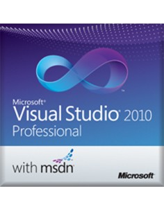 Microsoft Visual Studio 2010 Professional w/ MSDN, GOV, OLP-NL, SA Microsoft 77D-00106 - 1
