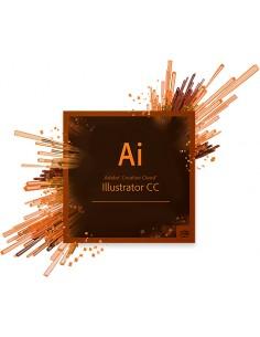 Adobe Illustrator CC, Renewal, Level 2(50 - 249), 1U, 1Y 1 lisenssi(t) Uusiminen Adobe 65227450BA02A12 - 1