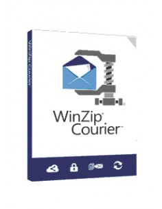 Corel WinZip Courier 9 500-999 lisenssi(t) Lisenssi Monikielinen Corel LCWZCO9MLG - 1
