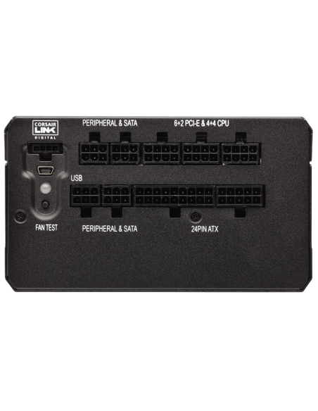 Corsair RM650i virtalähdeyksikkö 650 W 20+4 pin ATX Musta Corsair CP-9020081-EU - 7