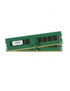 Crucial 16GB Kit (8GBx2) DDR4 muistimoduuli 2 x 8 GB 2400 MHz Crucial Technology CT2K8G4DFS824A - 1