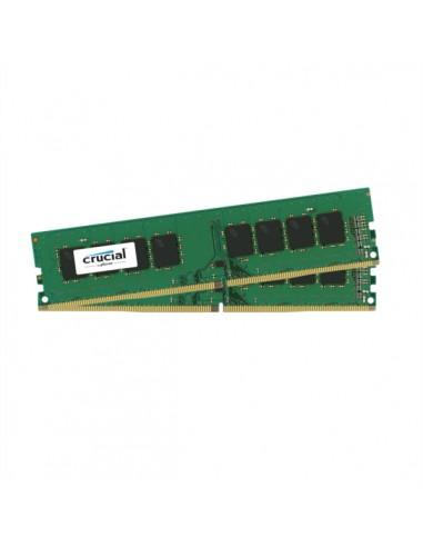 Crucial 16GB Kit (8GBx2) DDR4 muistimoduuli 2 x 8 GB 2400 MHz Crucial Technology CT2K8G4DFS824A - 1