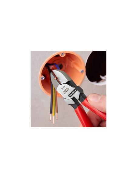 Knipex Seitenschneider Verchromt 160 Mm Knipex 70 05 160 - 2