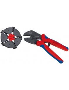 Knipex 97 33 02 johtopihdit Puristustyökalu Sininen, Punainen Knipex 97 33 02 - 1