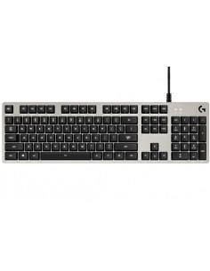 Logitech G413 näppäimistö USB Hopea Logitech 920-008474 - 1