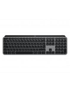 Logitech MX Keys näppäimistö RF Wireless + Bluetooth QWERTZ Saksa Alumiini, Musta Logitech 920-009553 - 1