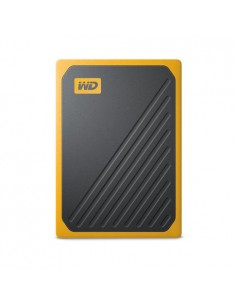 Western Digital My Passport Go 500 GB Musta, Keltainen Sandisk WDBMCG5000AYT-WESN - 1