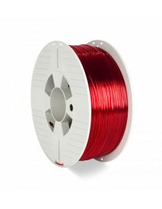 Verbatim 3d Printer Filament Pet-g 1.75mm 1kg Red Transp Verbatim 55054 - 1