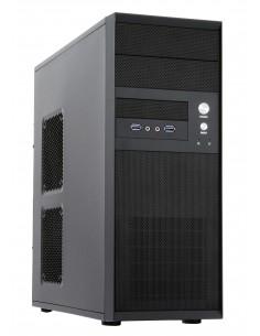 Chieftec CQ-01B-U3-OP tietokonekotelo Midi Tower Musta Chieftec CQ-01B-U3-OP - 1