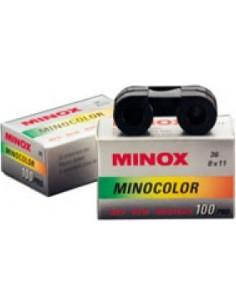Minox Minopan 100 ISO, 100/21º mustavalkofilmi 36 laukausta Minox 69002 - 1