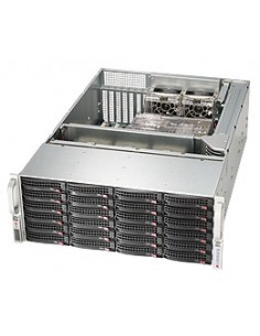 Supermicro SuperChassis 846BE16-R920B Teline Musta 920 W Supermicro CSE-846BE16-R920B - 1