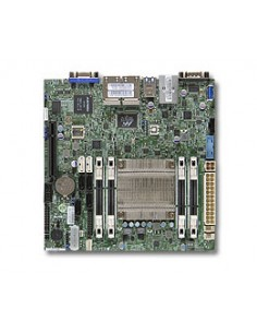 Supermicro A1SAi-2550F servrar/arbetsstationsmoderkort BGA 1283 Mini-ITX Supermicro MBD-A1SAI-2550F-O - 1