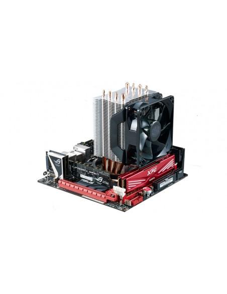 Cooler Master Hyper H412R Suoritin Jäähdytin 9.2 cm Musta Cooler Master RR-H412-20PK-R2 - 6